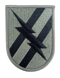 US Army Foliage patch - 48th Infantry Brigade Combat Team - met klittenband - voor ACU camo uniform - 8,7 x 6,2 cm - origineel