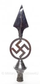 WO2 Duitse vlaggenstok punt - lengte 31 cm. - origineel