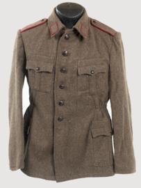 Bulgaarse wollen uniform jas (Russisch model) - origineel