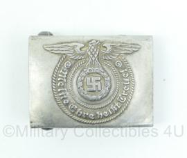 Waffen SS vroeg model koppelslot MEINE EHRE HEISST TREUE - alluminium - gedetailleerd en gestempeld