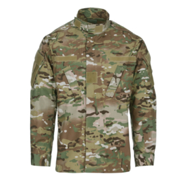 US Army multicamo field jacket - maat Medium-Regular - licht gedragen - origineel