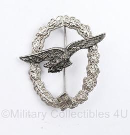 Replica Wo2 Duits Luftwaffe Segelflugzeugführerabzeichen medaille - Glider Pilot Badge - in origineel doosje - 6 x 5 cm - nieuw