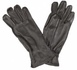 US Army Glove, Flyers, sheepskin leather handschoenen - bruin leer  - origineel