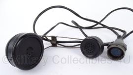 US Army Koptelefoon en microfoon set - audiosears - origineel