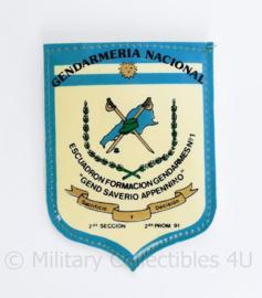 Argentina Gendarmeria Nacional - 10 x 7 cm  - origineel