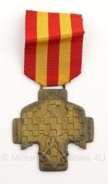 Tjechische NRA medaille - origineel - metaal - 1939/1945 - 5 x 8,5 cm