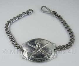 Frans leger Infanterie identificatie armband - 40ér jaren La Courtine - origineel