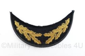 Nederlandse leger klep van platte pet van hoge officier - origineel