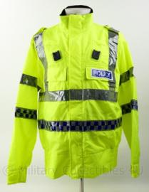 Britse Politie jacket lightweigt High Visability  met portofoon houders - nieuw - maat large  - origineel