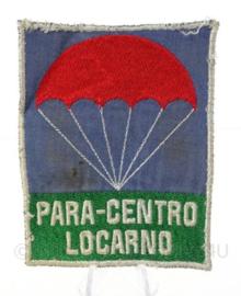 Zwitserse parawing embleem van Para Centro Locarno - 8 x 10 cm - origineel