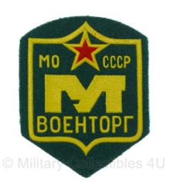 Russische USSR embleem - MO CCCP - 8,5 x 6,5 cm - origineel