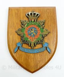 Wandbord Korps Mariniers - 19 x 14,5 x 1,5 cm - origineel