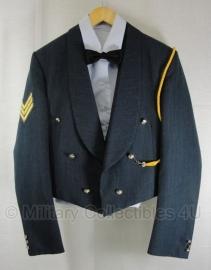 Brits Luchtmacht Avond Tenue jas met koord, gilet, overhemd en strik - gouden knopen  - maat 52 - origineel