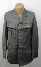 Uniform jas grijs leger - 95% scheerwol -  ook als wo2 Duits geschikt - origineel