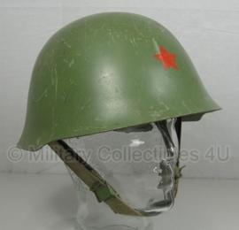 Servische helm M59/89 - MET rode ster - origineel