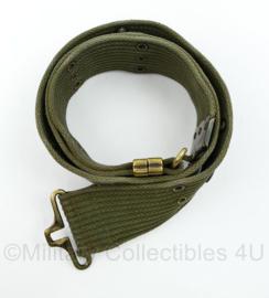 Korps Mariniers en Us Army M56 model belt  - 90 x 5 cm - origineel