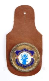 Defensie DT borsthanger Nederlandse Unifil  vereniging - veteranen vereniging -  10 x 5 cm - origineel