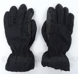 KM Marine Korps Mariniers winter gloves vochtregulerende handschoenen BLACK - met Hipora voering- maat L - origineel
