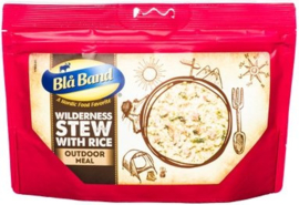 Blå Band Wilderness Stew with Rice Outdoor meal maaltijd - t.h.t.  1-7-2022