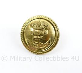 Koninklijke Marine mantel overjas knoop - 24 mm - origineel