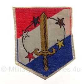 "KL Koninklijke Landmacht embleem ""Aruba"" - 5,5 x 7 cm - origineel"