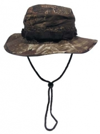 US Bush hat boonie Rip Stop - Real tree Hunter bruin camo