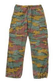 """Belgische """"JIGSAW"""" camouflage broek - maat Small Long - origineel"""
