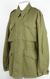 WO2 US M43 field jacket verouderd - replica