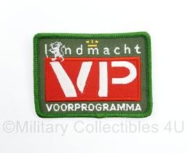 Landmacht VP Voorprogramma embleem - 8 x 6 cm - origineel