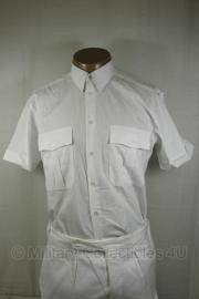 Nederlandse Politie wit overhemd - korte mouw - zonder emblemen - maat 41 of 43 - origineel