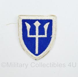 WW2 US 97th Infantry Division patch embleem -  6,5 x 5 cm - origineel