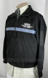POLICE fleece jack - MSIS Counter Terrorism Task Force Politie - origineel