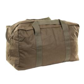 Parabag Flyers kit bag  - met rits- en drukknoop sluiting - 75 liter - 56 x 35 x 35 cm. - ook ideaal voor een parachute -  GROEN
