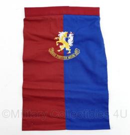 Nederlands leger halsdoek Pantser Infanterie Brigade - rood/blauw- origineel
