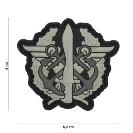 Embleem 3D PVC met klittenband Mando Conjunto de Operaciones Especiales (España)   -  6,4 x 6 cm