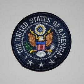 Embleem stof United States of America