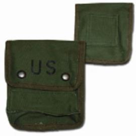 US Army Patroontas (nieuw gemaakt) 12 x 15 x 6 cm. - GROEN