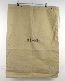 KL Nederlandse leger postzak 65 x 90 cm . - KL-86 - origineel