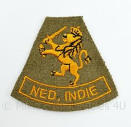 KNIL Nederlandse leger  embleem Mouwleeuw Ned. Indie
