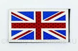 Britse leger infrarood patch - met klittenband - Britse vlag - 5 x 9 cm