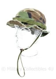 Korps Mariniers en Special Forces Boonie bush hat met ingekorte randen -  maat 58 - origineel
