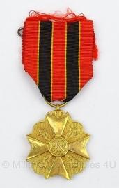 Belgische burgerlijke ereteken gouden medaille  - origineel