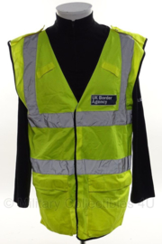UK Border Agency geel reflectie hesje - size Medium - origineel