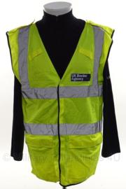 UK Border Agency geel reflectie hesje - size Medium - origineel