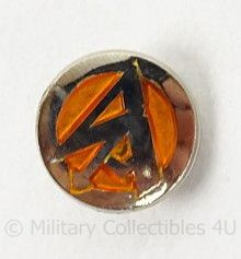 Metalen insigne voor in de handgreep van een SA Dolk SA dagger grip insignia