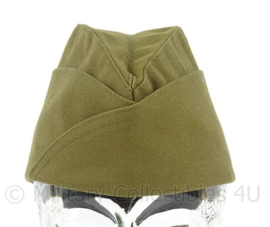 US Army Officer overseas cap - khaki - maat 55 - replica