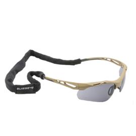 Multifunctionele SwissEye hoofdband - ook voor de Sawfly Revision bril -  zwart