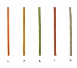 Schuitje Litze- meerdere kleuren - 20 cm.
