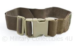 Defensie Coyote Legstrap beenriem voor doppouch en IFAK tas  - verstelbaar - 68 x 5 cm - origineel