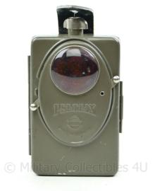 Duitse naoorlogse Pertrix 667 zaklamp/seinlamp-10x6,5x2,5cm - origineel